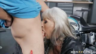 Sally D'Angelo & Ricky Spanish Bad To The Granny Bone 2019 Brazzers