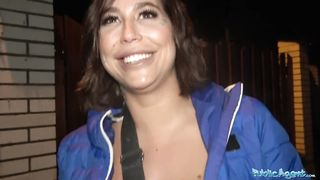 Public Agent Canadian superstar fucks for cash Heidi Van Horny