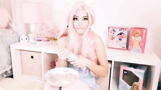 Sex toy Belle Delphine CREAMPIE :)