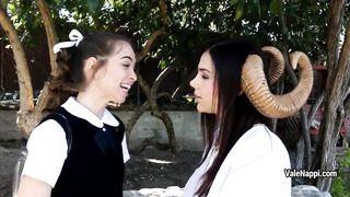 Riley Reid Valentina Nappi young Satan lesbians make a porn with horse didldo