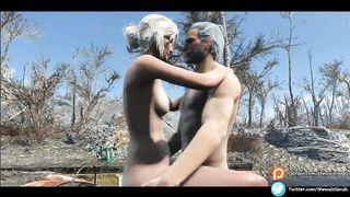 Ciri and Geralt Witcher Porn Game Film HD 720p