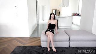 720p HD video porn 18 yo girl on sex casting (30 minutes)
