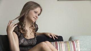 Big Tits Teen Alexandra Bukloj XXX Porno Solo Striptease SD 480p